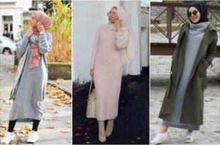 صورة اجمل ثياب للمحجبات , المراة رمزا للاناقة