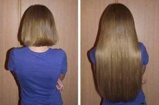صور تسريحات لتطويل الشعر , الضفاير بتدي للشعر طول زيادة