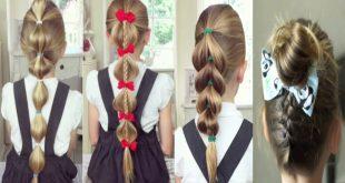 صور اجمل تسريحات الشعر للبنات سهلة , جربي استايلات جديدة وبسيطة لشعرك