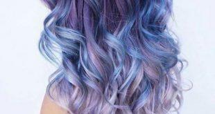صبغ الشعر باللون الازرق , غيري وجددي لون شعرك يا جميلة