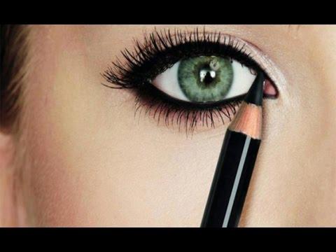 صورة رسم العيون بالمكياج , تعالي اوريكي ازاي بسهولة ترسمي عينك ب الميك اب 3766 9