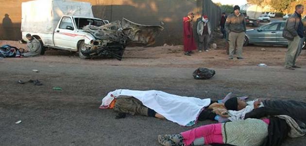 صورة اضرار حوادث السير , كوارث بتحصل من الحوادث اللى علي الطريق 3796