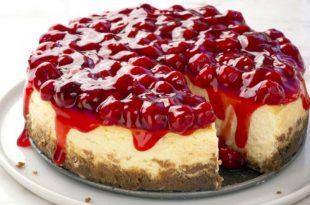صورة خلطة التشيز كيك البيضاء , احلي واطعم حلويات ممكن تاكليها