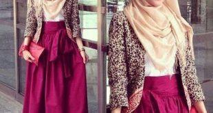 صور ملابس بنات محجبات سن 15 سنة , استايلات الصبايا المحير بالحجاب تجنن وتهوس