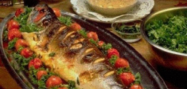 صور طريقة عمل سمك الهامور , لو عايزة تاكلي اكلة حلوة ولذيذة
