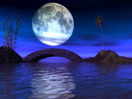 صور صور عن القمر , قمر منور بجماله في السما