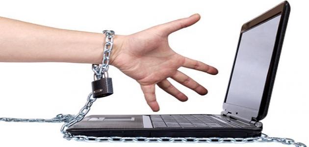 صورة اضرار الانترنت , الاثار السلبية من مواقع النت