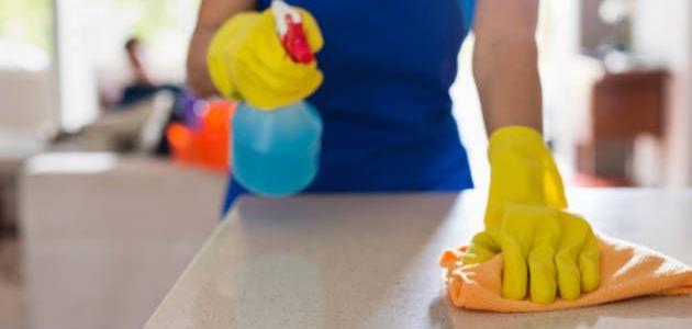 صورة تنظيف المنزل , في اقل من ساعتين هتلاقي بيتك بيبرق من النضافة