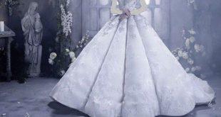 الفستان الابيض في المنام , لابسة فستاني يوم زفافي لونه ابيض جميل