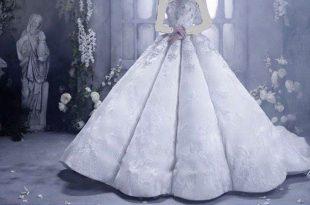 صورة الفستان الابيض في المنام , لابسة فستاني يوم زفافي لونه ابيض جميل