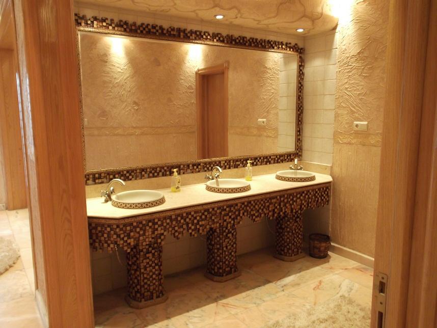صور مغاسل ضيوف مودرن , احدث حمامات خاصة بالضيوف قمة الشياكة