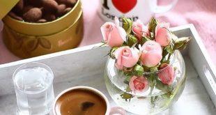 صباح الخير قهوة , اجمل رسائل الصباح علي صور