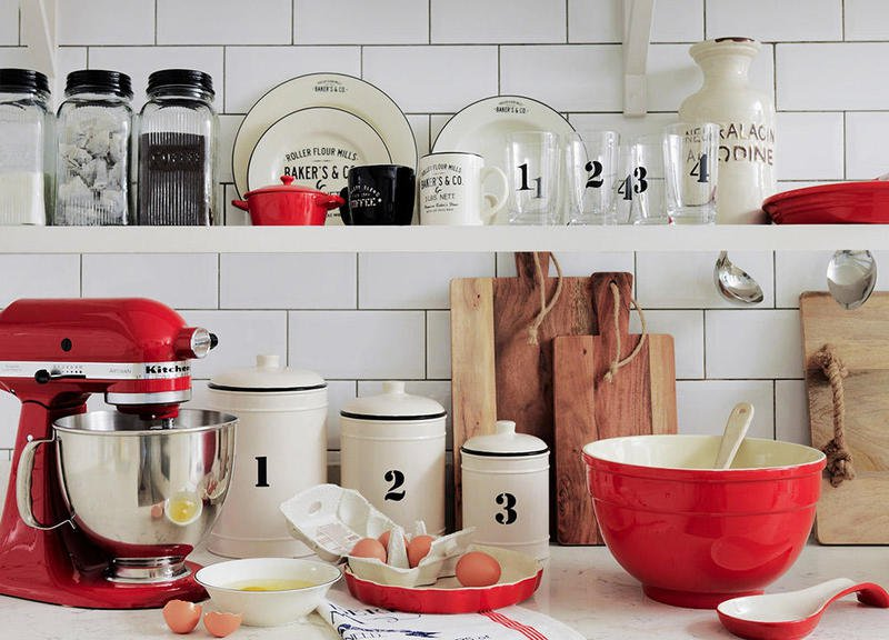 صور اكسسوارات المطبخ , اكسسوارات رائعه لمطابخ العرائس