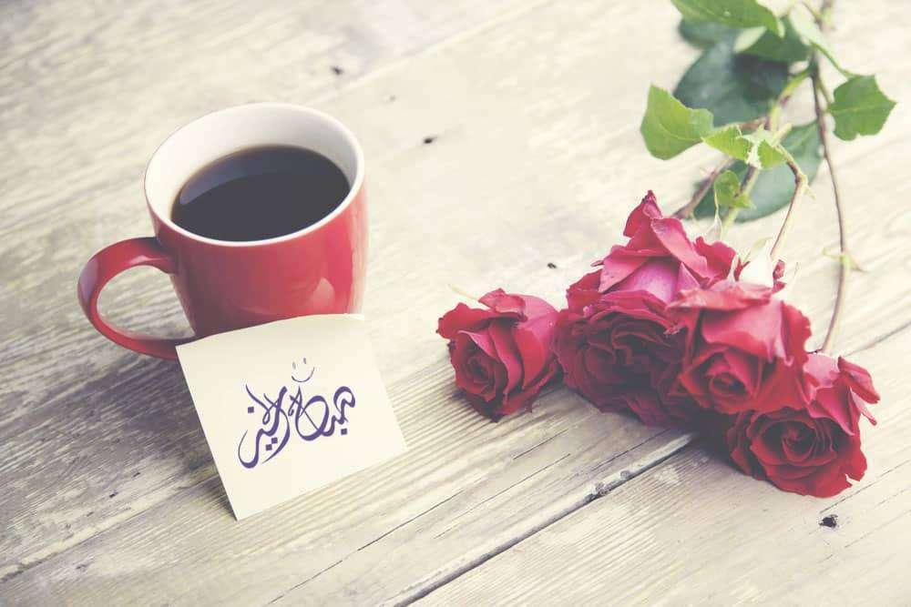 صورة كلمات صباح الخير للحبيب , تحيات صباحيه للحبيب