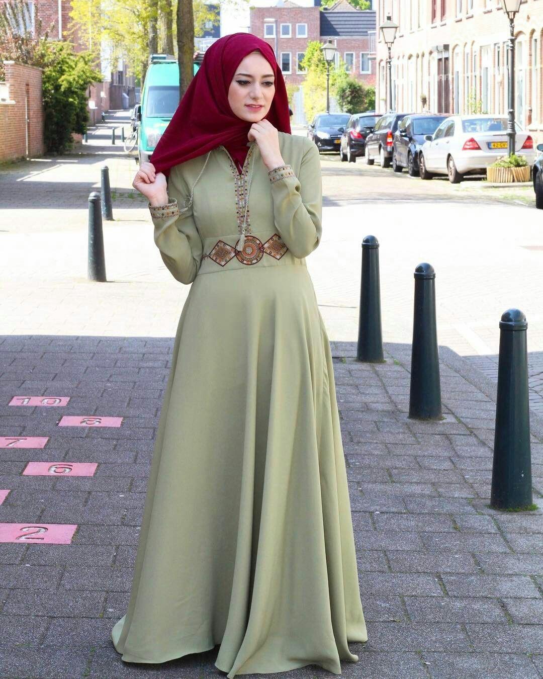 صورة صور حجابات , ملابس محجبات لصيف 2019