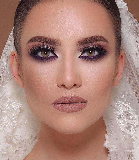 صورة مكياج عروس , ميكب عروسه فخم