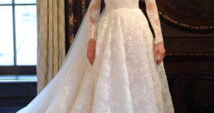 احدث فساتين الزفاف , صور فساتين زفاف موضه 2019