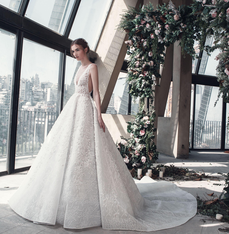 صورة احدث فساتين الزفاف , صور فساتين زفاف موضه 2019 1267 15