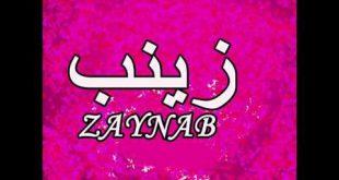 معنى زينب , الصفات الشخصيه لحامله اسم زينب