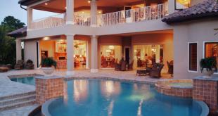 صورة منزل فخم , فلل فخمه من الداخل و الخارج