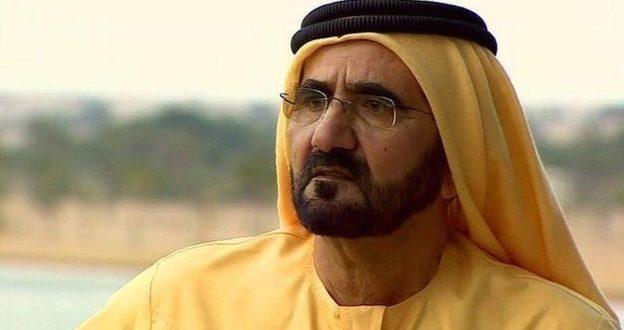 صور محمد بن راشد اليوم في مواجهة زوجته امام المحكمة والقضاء