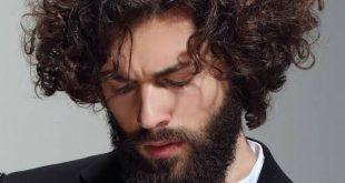 طريقة لفلفة الشعر للرجال بالصور , كيفيه جعل شعر الرجال مجعد