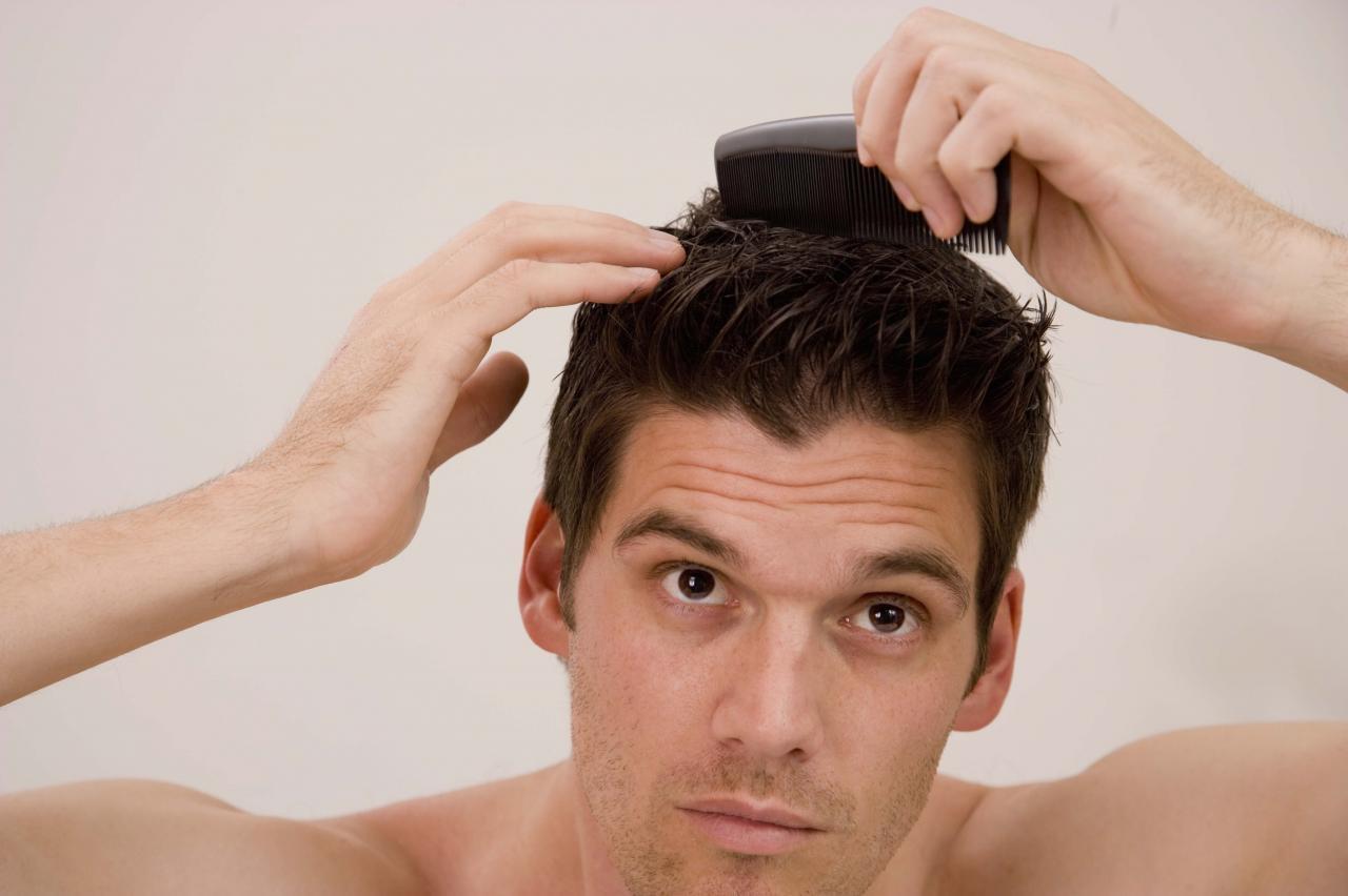 صورة طريقة لفلفة الشعر للرجال بالصور , كيفيه جعل شعر الرجال مجعد 3872 9