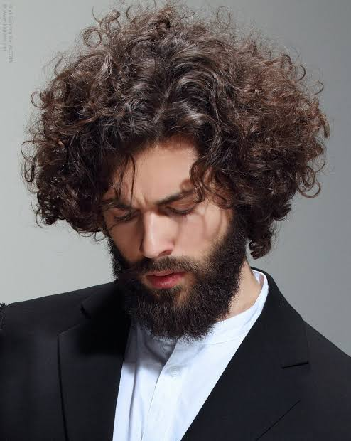 صورة طريقة لفلفة الشعر للرجال بالصور , كيفيه جعل شعر الرجال مجعد
