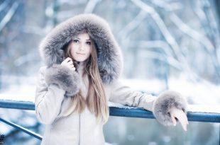 صورة بنات في الشتاء , رمزيات بنات تحت المطر