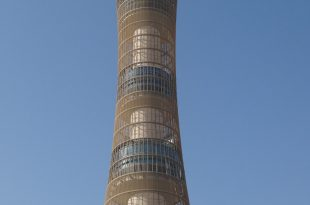 صورة اصغر برج في العالم , تعرف علي ارتفاع برج اسباير بالدوحه