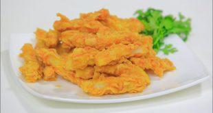 طريقة عمل البطاطس المقرمشة بالدقيق , وصفه البطاطس الفريسكس المقرمشه