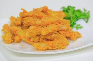 صورة طريقة عمل البطاطس المقرمشة بالدقيق , وصفه البطاطس الفريسكس المقرمشه