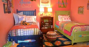 صورة غرف نوم بنات واولاد , غرف نوم منتهي الرقة لاولادنا