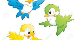 صور طيور مرسومه , صور لتعليم طفلك رسم طائر
