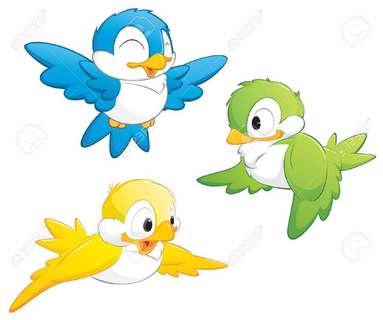 صور طيور مرسومه , صور لتعليم طفلك رسم طائر  المرأة العصرية