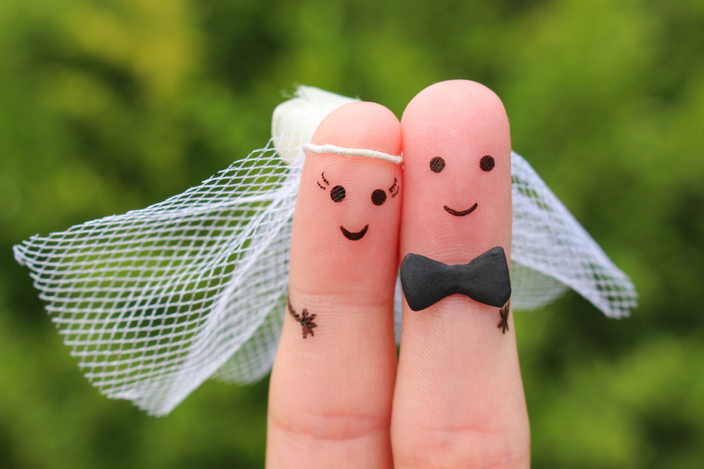 صور معبره عن الزواج