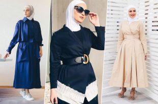 صورة موديلات ملابس شتوية , صور لبس شتوي للمحجبات يهبل