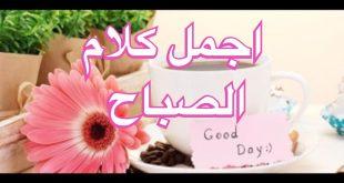 صورة احلى صباح لاحلى ناس , اجمل كلمات الصباح الجميل