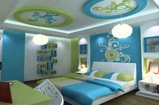 صورة ديكورات جبس غرف نوم اطفال ، زيني غرف اطفال بديكوات الجبس