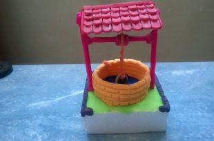 صورة اعمال فنية للاطفال بالصلصال , العاب واعمال بالصلصال