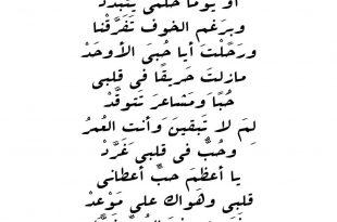صورة اجمل الشعر حب ، اشعار غزل و رومانسيه