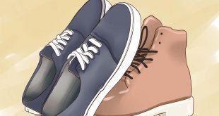 صورة كيفية صنع حذاء في المنزل , اروع حذاء مصنوع في البيت