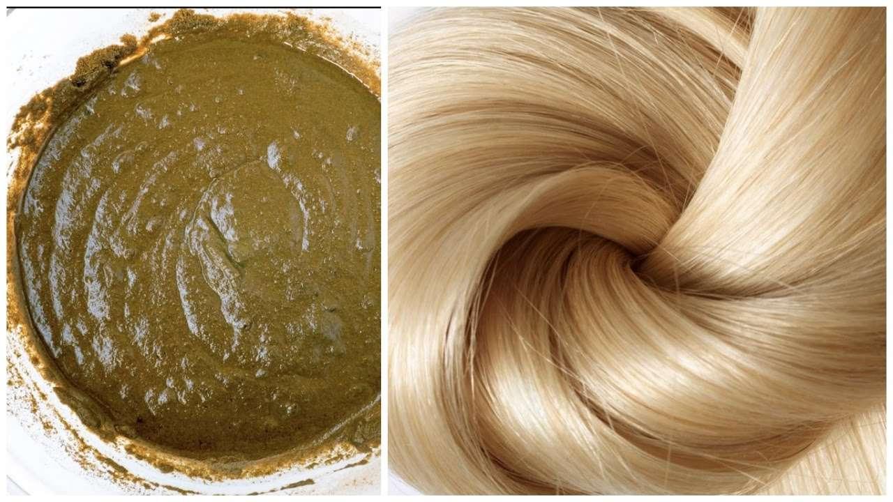صورة تفسير حلم وضع الحناء على الشعر, رؤية تحنية الشعر