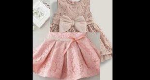 صورة فساتين بنات صغار دانتيل, اروع تصميمات لفساتين بنات صغيرة