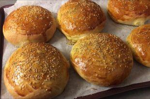 صورة طريقة عمل خبز الهمبرجر في البيت بالصور ,اشهى والذ الاكلات