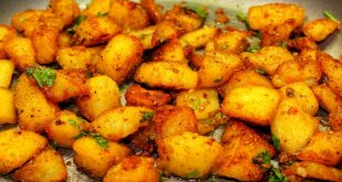 طريقة عمل البطاطس ,اسهل وصفه لعمل صنيه بطاطس فى الفرن