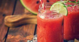 اسهل الطرق لصنع العصائر , طريقة عصير البطيخ
