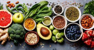 صورة عبارة عن الغذاء الصحي , افضل الماكولات الصحيه والمفيده
