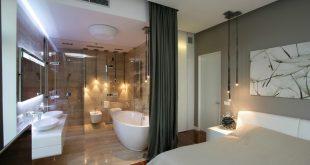 صورة حمامات غرف النوم الرئيسية , اروع التصاميم لحمامات غرف النوم