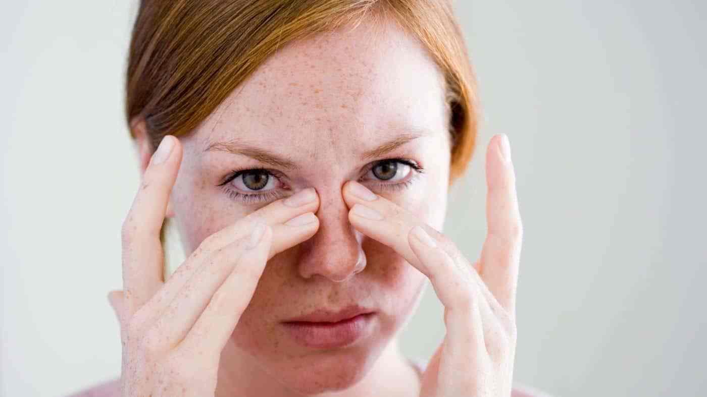 صورة علاج صداع الجيوب الانفية , تخلصي من الام الجيوب الانفيه